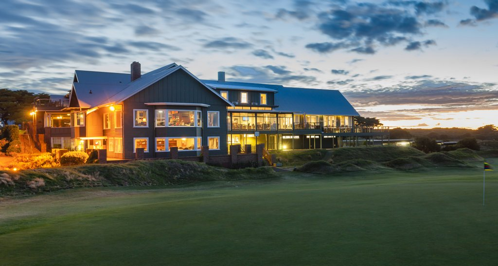 bhgc - clubhouse as the backdrop