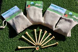 bamboo golf tees