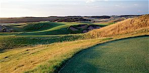 The Norman designed Moonah course at The National